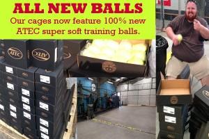 New Practice Balls