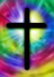 tie dye cross