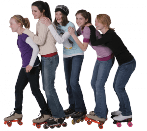 Skating kids